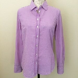 J. Crew Factory The Perfect Shirt Gingham